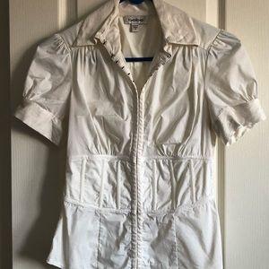 ✨3 for $40✨ Bebe short sleeve sexy dress shirt
